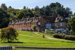 Accommodation on Buckler's Hard high street on the Beaulieu River
