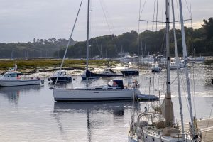 Moorings on the Beaulieu River