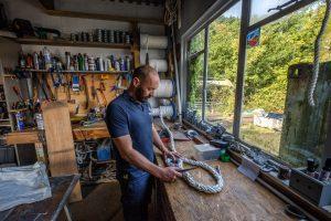 Maintenance services at the Beaulieu River Boatyard