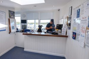 Harbour Office at Buckler's Hard Yacht Harbour