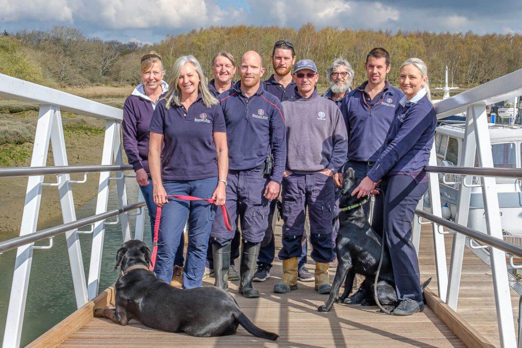 Beaulieu River team